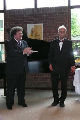 Pfarrer Thomas Garnjost - Prof. Dr. Werner Pütz