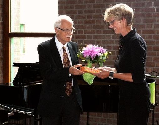 Prof. Dr. Werner Pütz - Pfarrerin Silke Althaus