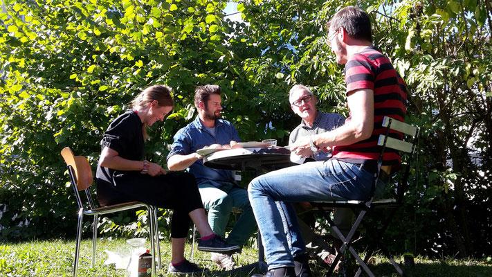 prodis-design Team Mirjam Müller, Reinhard Margelisch, Roger Willi, Rudi Zimmermann