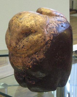 Кот – баюн.       2014 г.           Иск. камень, медн. поталь, акрил