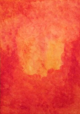 Voll der Energie, Mitten im Leben. 2015, 50 x70, 275 Euro