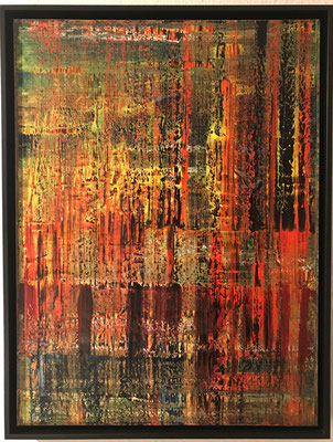Ohne Titel. 2017, 60 x 80 x 3,5 cm, 850 Euro