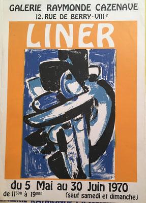 Carl LINER , affiche lithographique