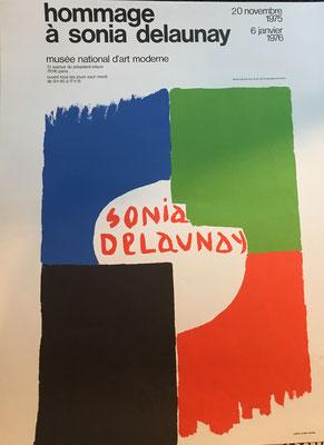 sonia delaunay affiche lithographique originale