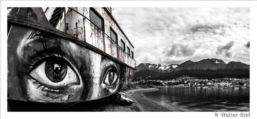 am Hafen von Ushuaia