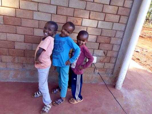 Unsere Drei...