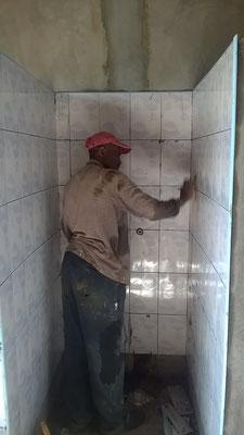 Eine Dusche....
