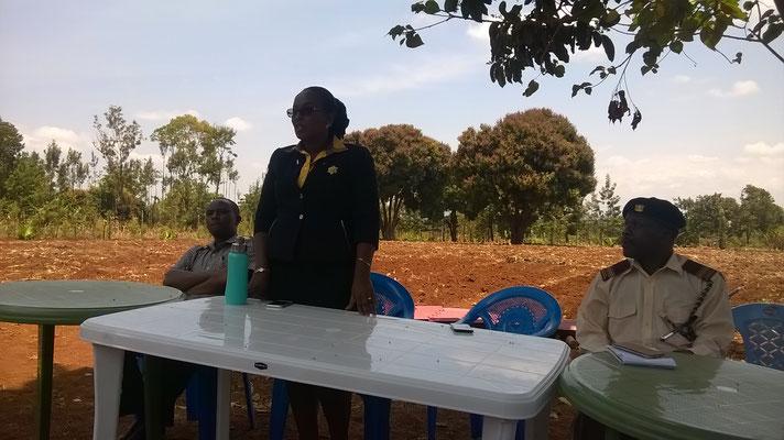 County Commissioner  Frau Esther Maina