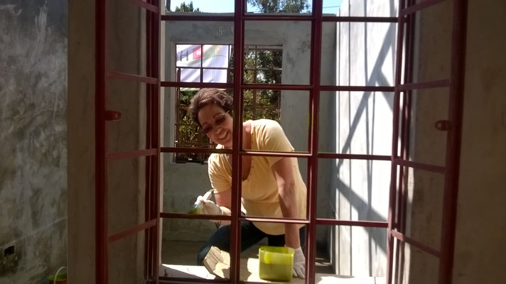 Rita bei ihrer Lieblingsbeschäftigung...