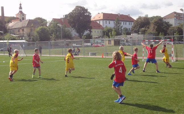 Spiel gegen Dukla Praha