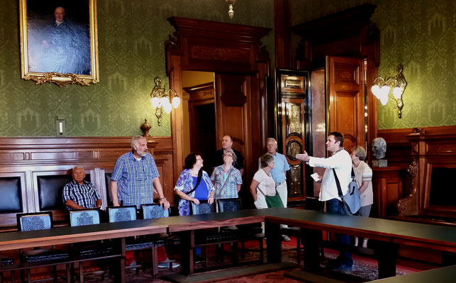 In der guten Stube der Abgeordneten: der Bürgersaal