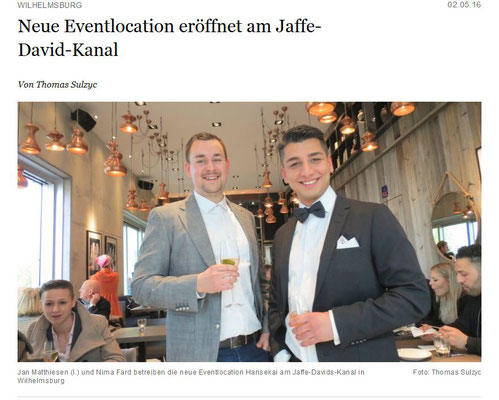 Hamburger Abendblatt 12.05.16 Teil 1