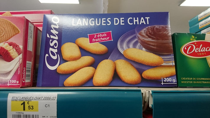 französische Katzenzungen sind anders