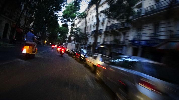 Paris war wirklich leer.