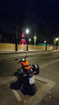 stilechter Schlafplatz fürs Moped