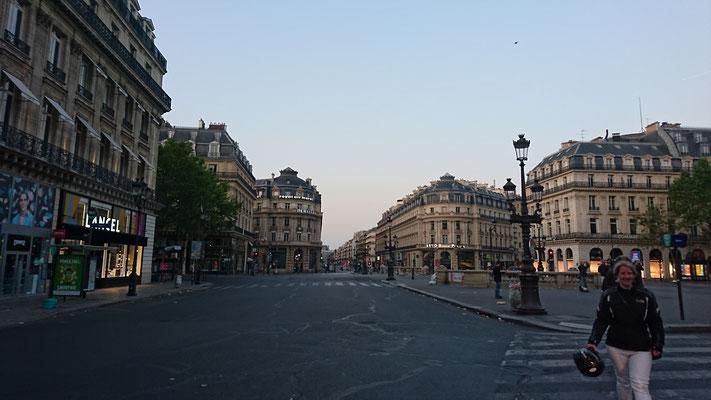 Ich schrieb schon, dass Paris leer war?
