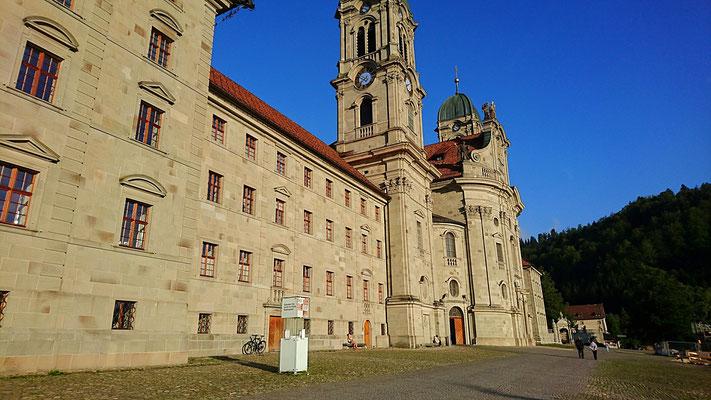 Beeindruckenste Klosterkirche in Einsielden (innen!)