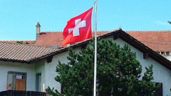Zwischenstation Schweiz