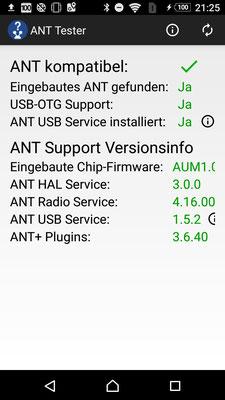 Installation der erforderlichen Services: App Ant Tester nutzen!