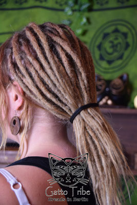 Dreaderstellung, neue Dreads in Berlin 036 ( 54 Dreads mit Extensions)