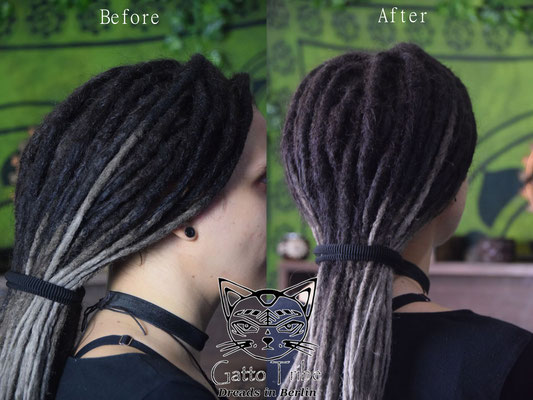 Dreaderstellung, neue Dreads in Berlin 030 ( 48 Dreads mit Extensions)