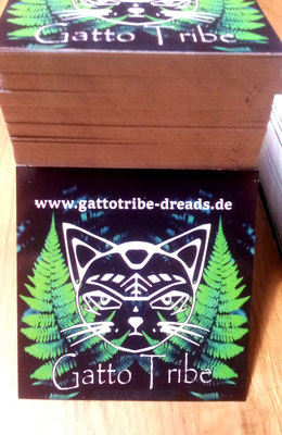 Gatto Tribe Sticker 60x60mm