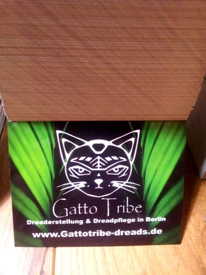 Gatto Tribe Sticker 80x60mm