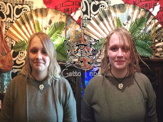Dreaderstellung, neue Dreads in Berlin 006 (53 Dreads mit Extensions)