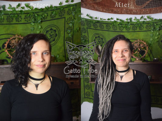 Dreaderstellung, neue Dreads in Berlin 033 ( 48 Dreads mit Extensions)