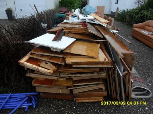 Entrümpelung, Sperrmüll Abfuhr, Räumung, Haushaltsauflösungen, Müll, Recycling