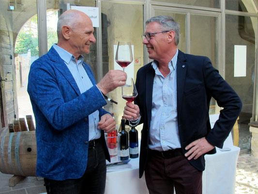 Leo Larcher und Hannes Pfeifer vom Pfannenstielhof