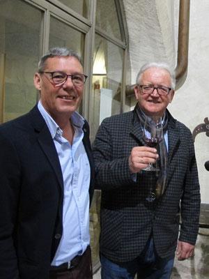 Hannes Pfeifer, Pfannenstielhof und Robert Christof, Weinclub Eppan
