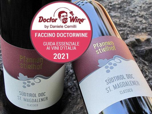 DoctorWine: Faccino für St. Magdalener classico Pfannenstielhof