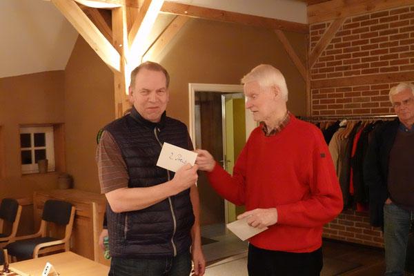 Erwin Sevecke erspielte sich den zweiten Preis