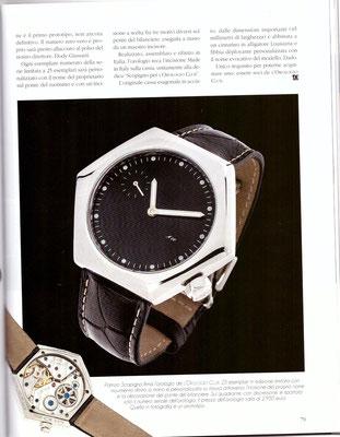 L'Orologio, N° 245, Marzo 2016, Pagina Interna 2