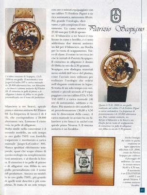 La Clessidra, N° 7/8 Anno 58, Luglio -Agosto 2002, Pagina Interna 2