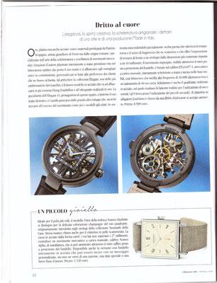 L'Orologio, N° 264, Febbraio 2018, Articolo Elegant 45
