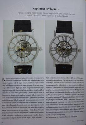 L'Orologio, N° 232, Novembre 2014, Pagina interna