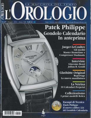 L'Orologio, N°127, Maggio 2004, Copertina