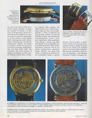 L'Orologio, N° 121, Ottobre 2003, Pagina interna 3