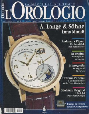 L'Orologio, N° 121, Ottobre 2003, Copertina