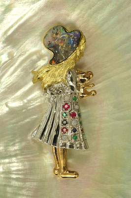 Design creativo su opale