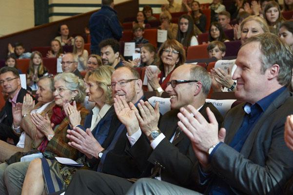 Verdienter Applaus für die tolle Leistung der Hamburger Schülerinnen und Schüler.
