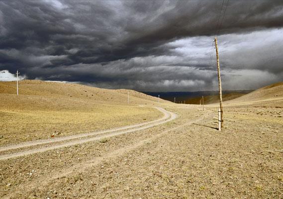 Wetterfront, Mongolei