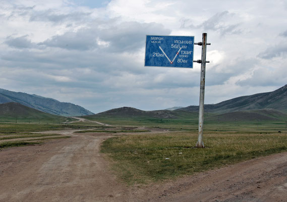 Am Scheideweg, Mongolisches Wegenetz