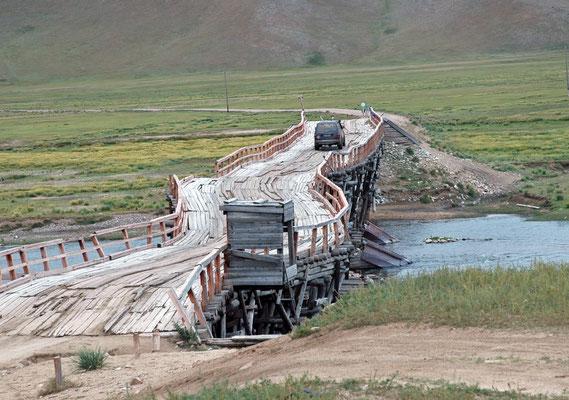 Brücke (von 1940) bei Dschargalant