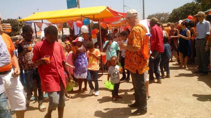 1 Mei 2018 Viering van Koningsdag in Gambia