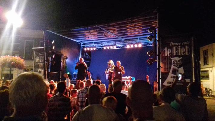Steenwijk 1 augustus, optreden van Ancora