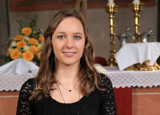 Konfirmation Ebsdorf: Porträt Johanna