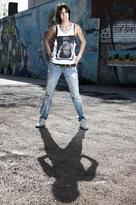 Porträt von Deniz